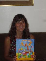 Sandra Lavandeira, ilustradora de mi A-Z