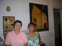 With Claudia Legnacy