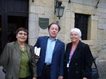 With Javier Marias
