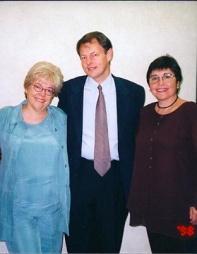 With Jim Cummins and Alma Flor