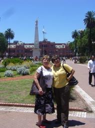 Buenos Aires con mi hermana