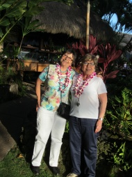 En Hawaii con mi hermana