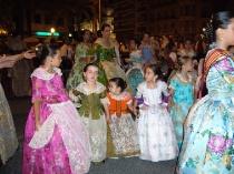 Fogueres en Alicante