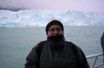 Among icebergs near Usuaia