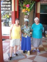 With Carmen Miranda II, Jamaica