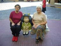 With Mafalda in B.A.